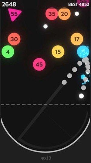开心弹球球红包版图1