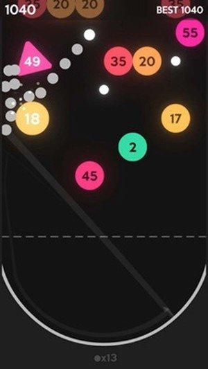 开心弹球球红包版图2