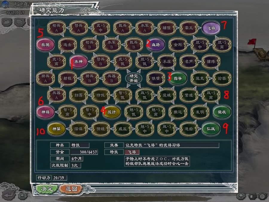 三国志11血色衣冠安卓版图2