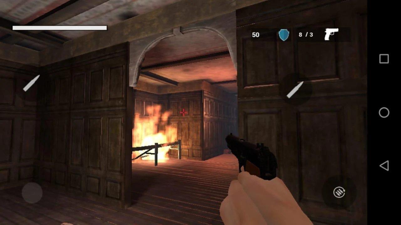 恐怖游戏僵尸城图1