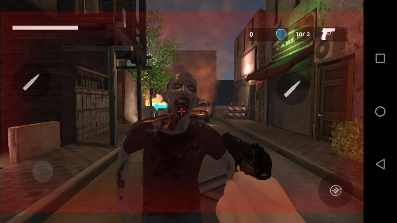 恐怖游戏僵尸城图3