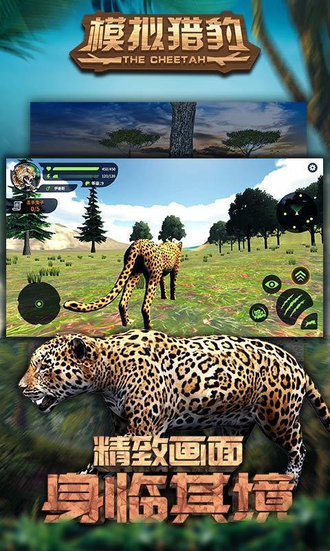 模拟猎豹图1