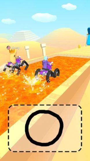 抖音涂鴉騎士3D版圖2