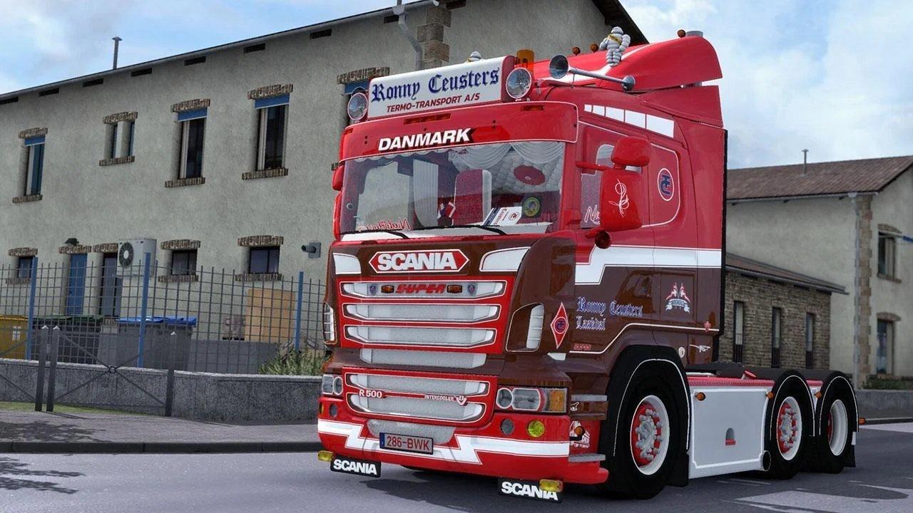 欧洲卡车模拟2破解版图4