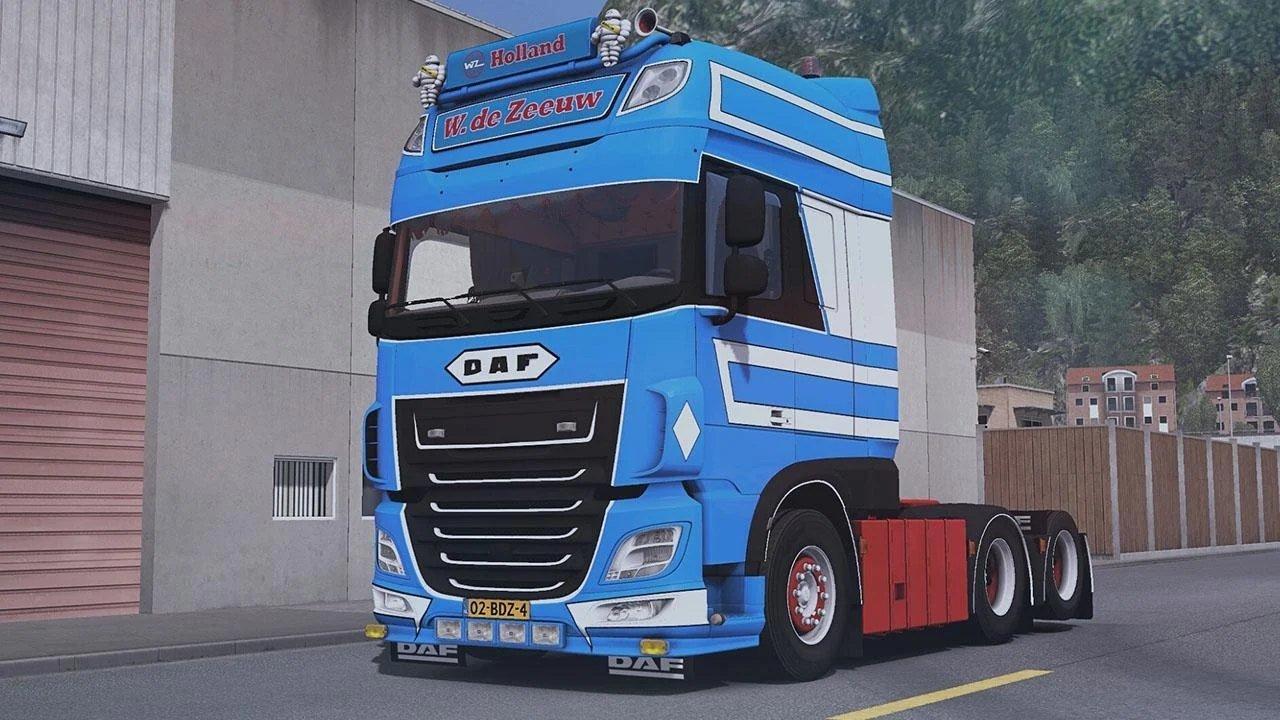 欧洲卡车模拟2破解版图1