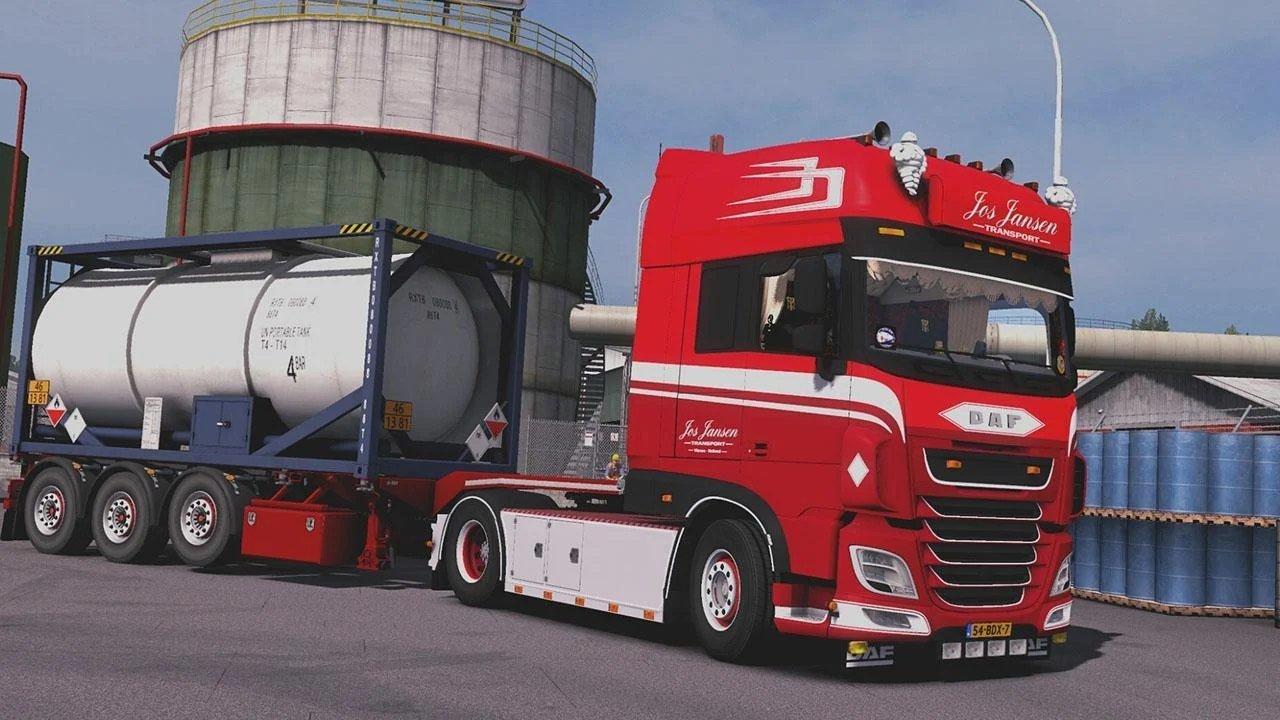 欧洲卡车模拟2破解版图2