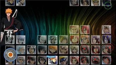 死神vs火影6.6滿人物版圖1