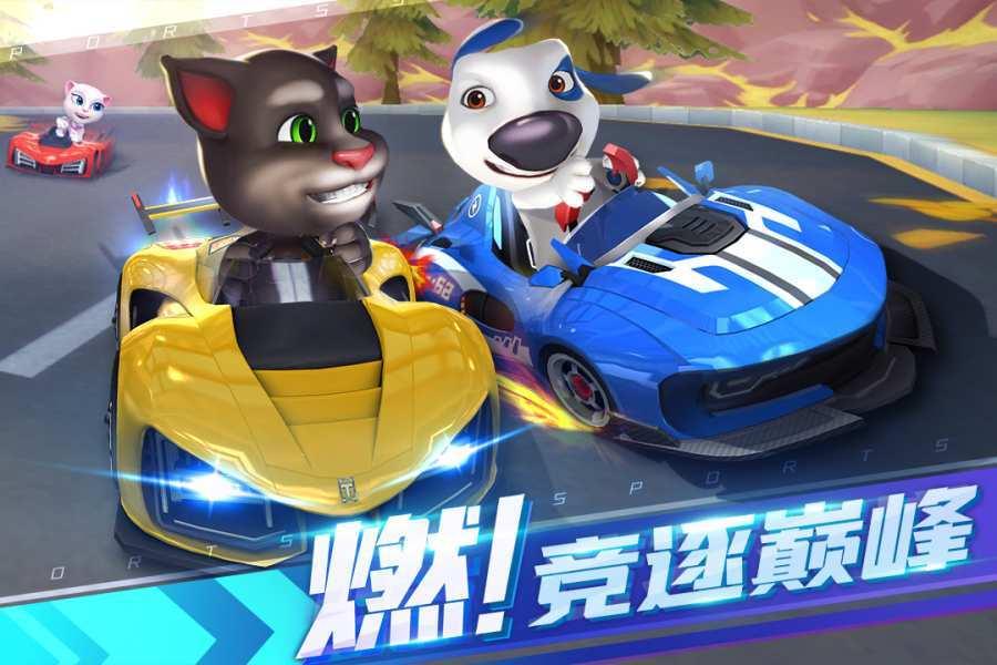 湯姆貓飛車破解版圖1