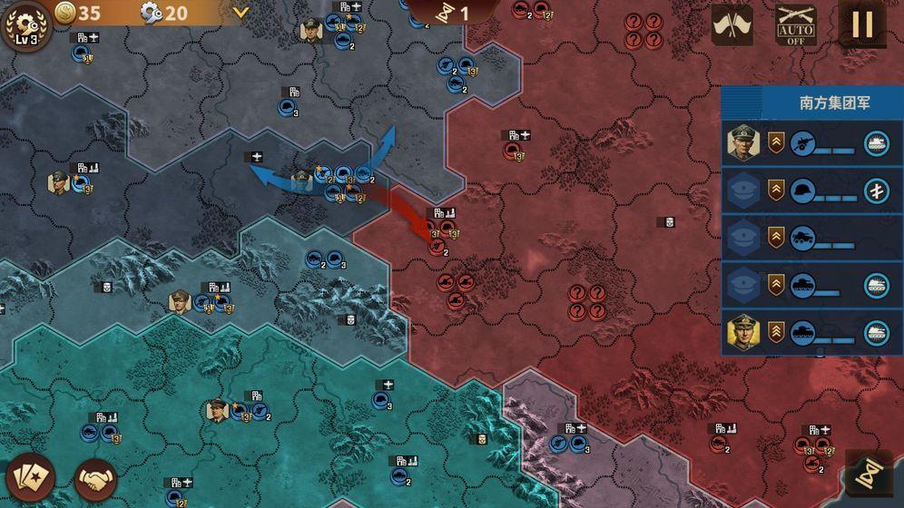 鋼鐵命令將軍的榮耀3內購破解版圖6