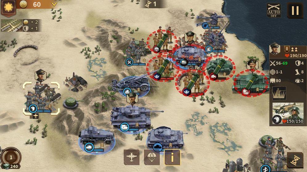 鋼鐵命令將軍的榮耀3內購破解版圖4