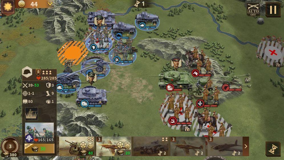 鋼鐵命令將軍的榮耀3內購破解版圖9