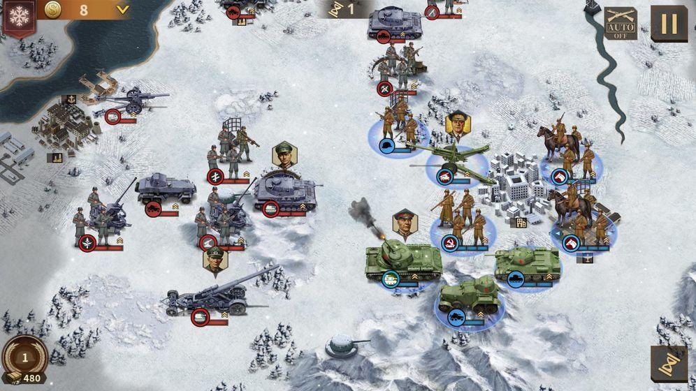 鋼鐵命令將軍的榮耀3內購破解版圖8