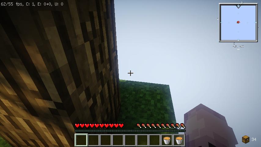 我的世界30倍掉落空岛图2