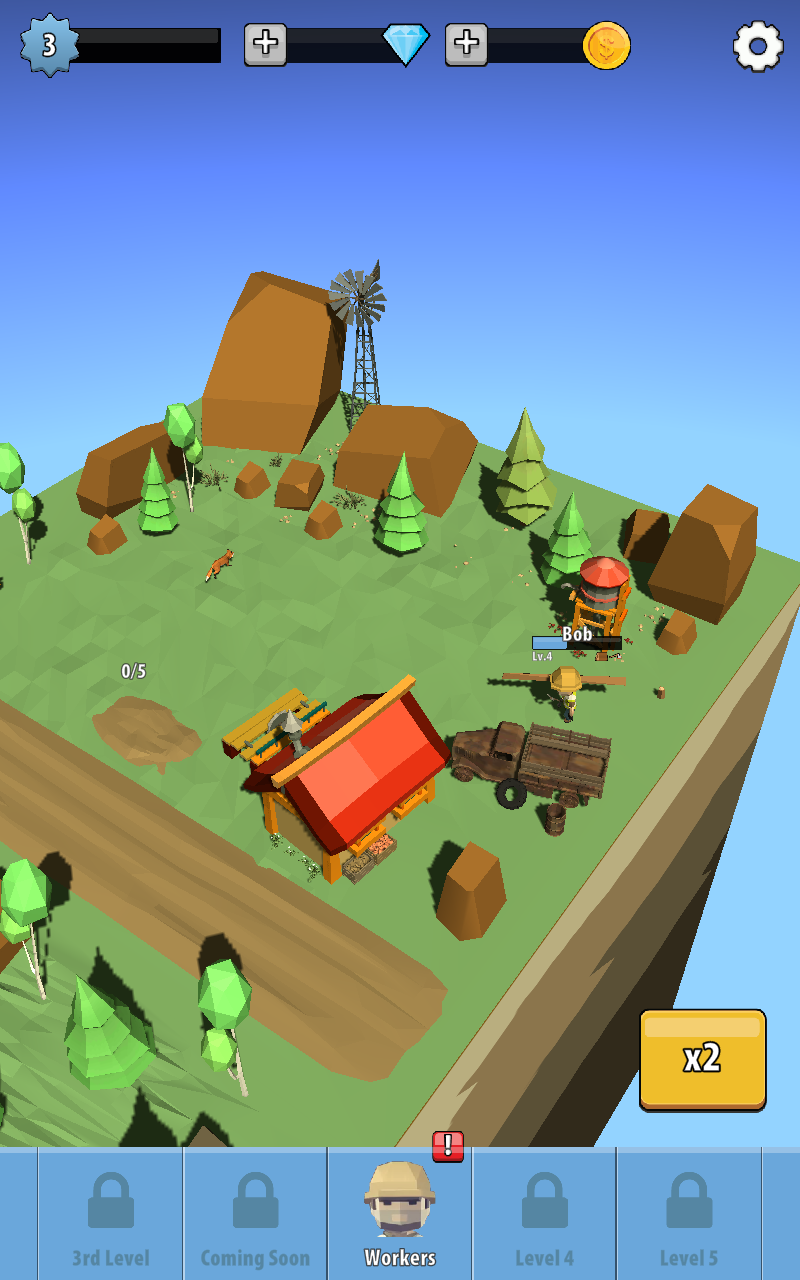 空闲伐木工人图3