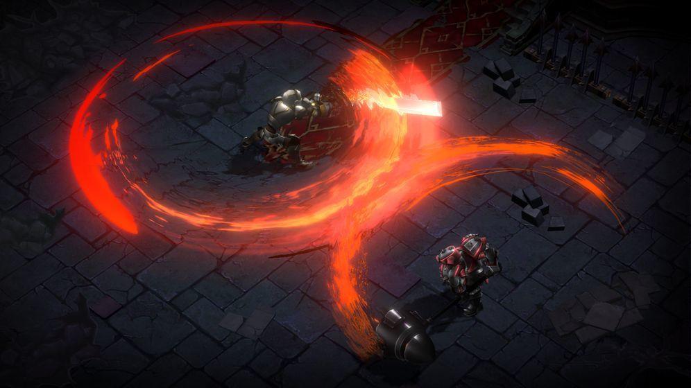 暗魔领主破解版图4
