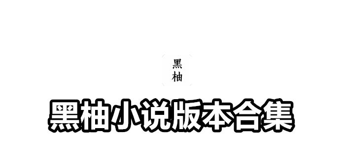 黑柚小说版本合集