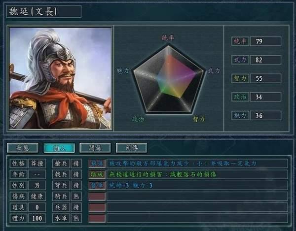 三国志11繁体中文版图4