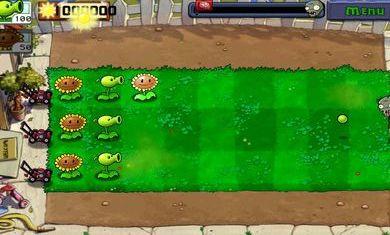 植物大战僵尸经典版图1