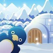 動物們與下雪的島