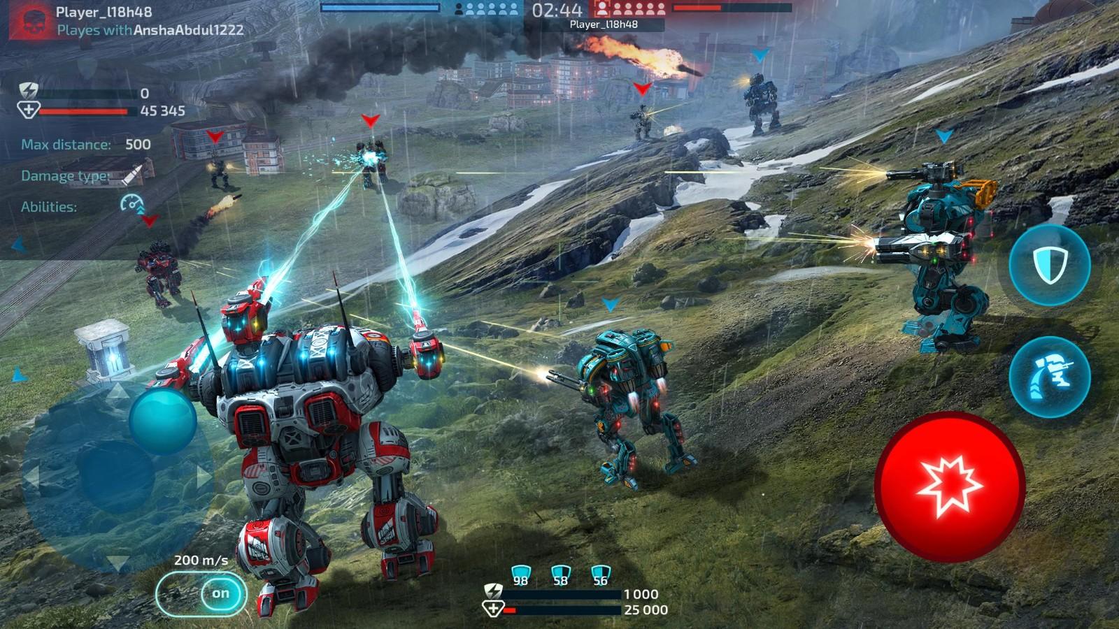 科幻机器人游戏排行榜