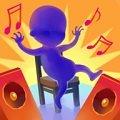 音乐椅DJ舞蹈