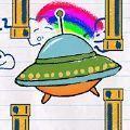 纸上飞碟游戏安卓版